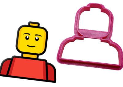 Vykrajovátko Lego hlava