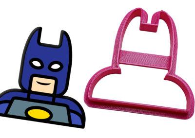 Vykrajovátko Lego hlava Batman